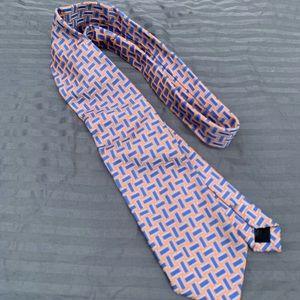 Men's Talbots Necktie 100% Seta Silk Made in Italy